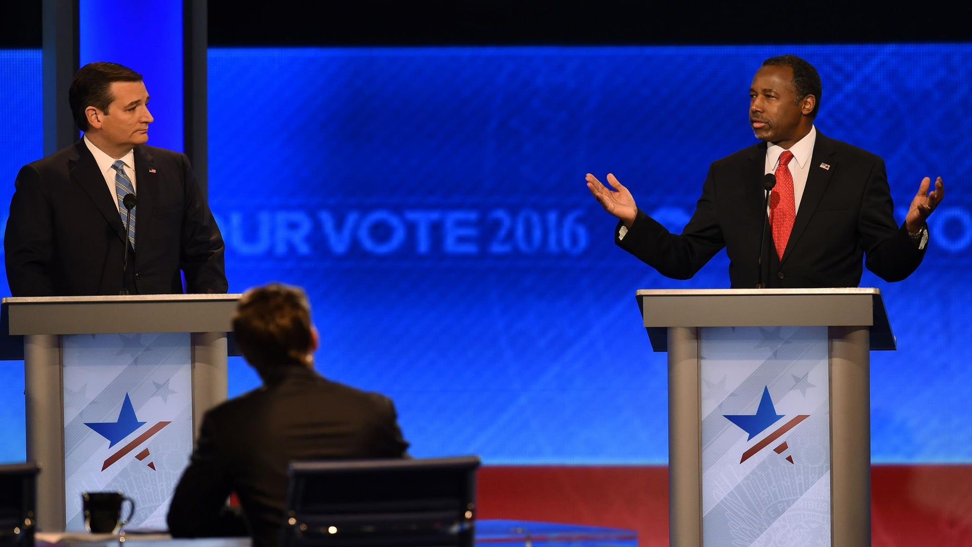 No Color, Some Flavor in the ABC News Run-Up to a Pivotal Primary