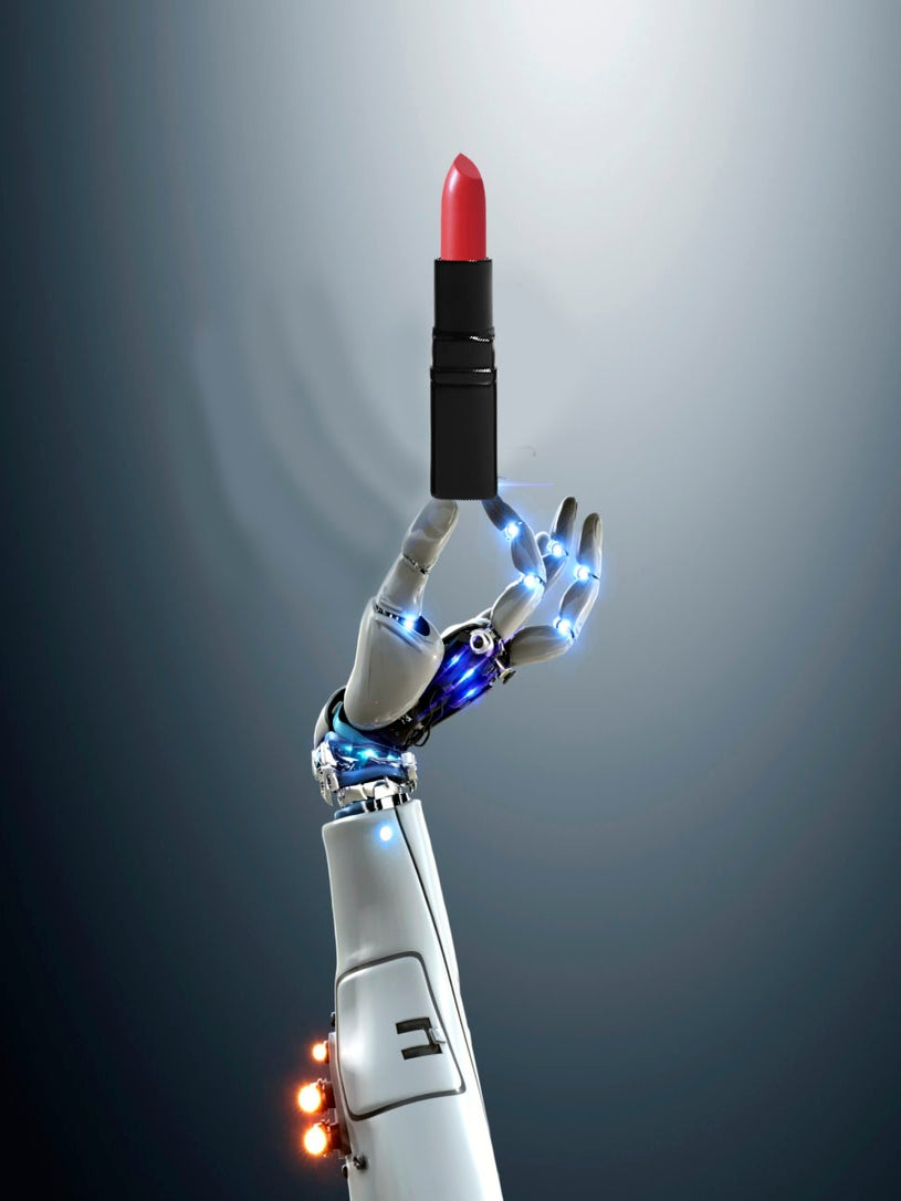 This Robot Can Help You Apply Your Lipstick