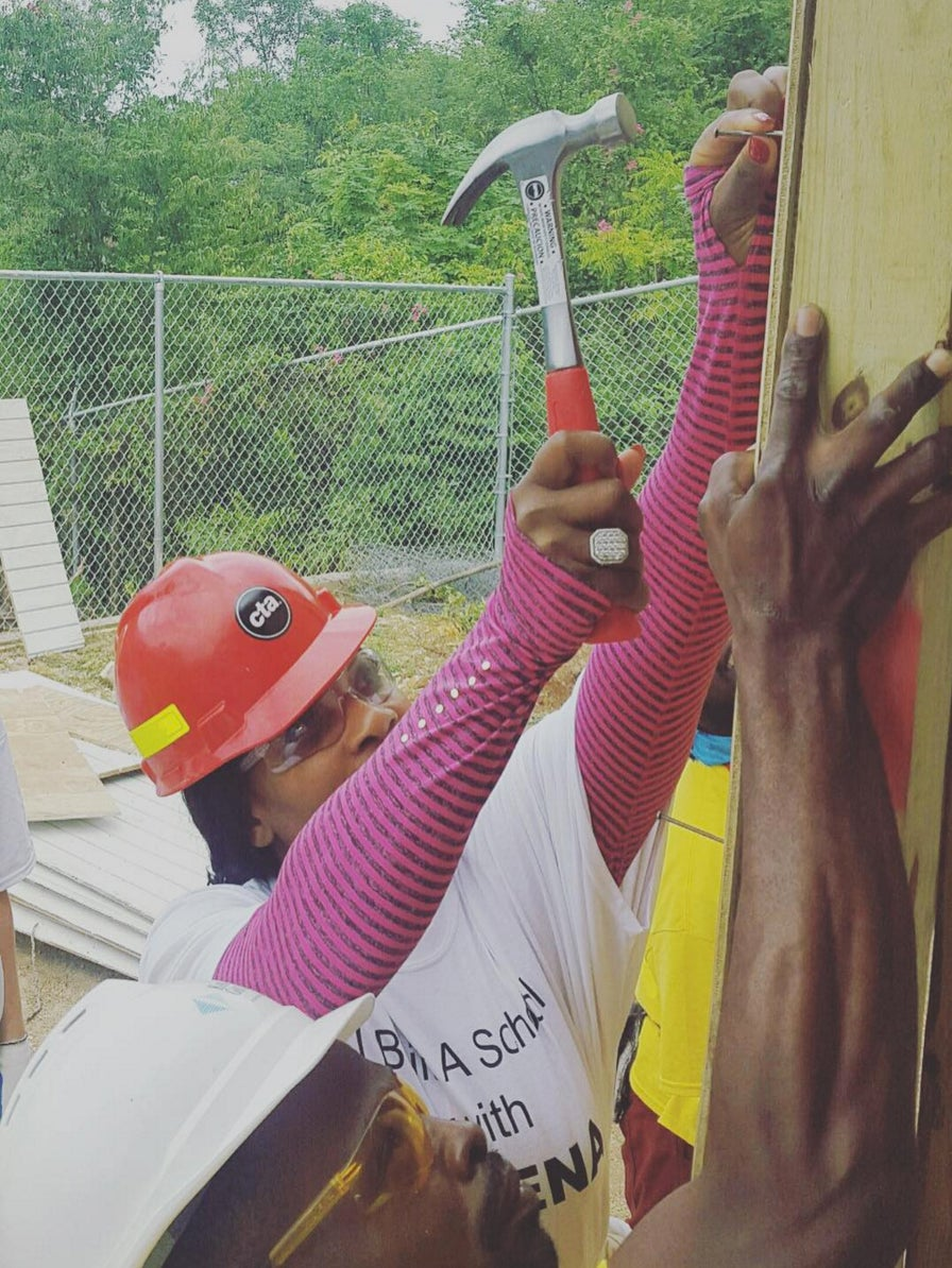 Serena Williams Lends a Helping Hand to Build a Jamaican School