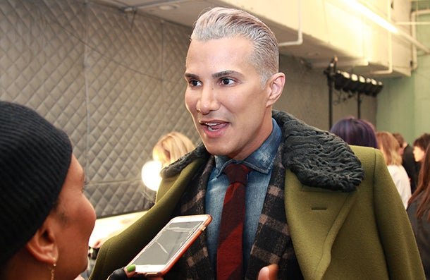 Jay Manuel Delivers Flawless Makeup For Black Beauties During NYFW