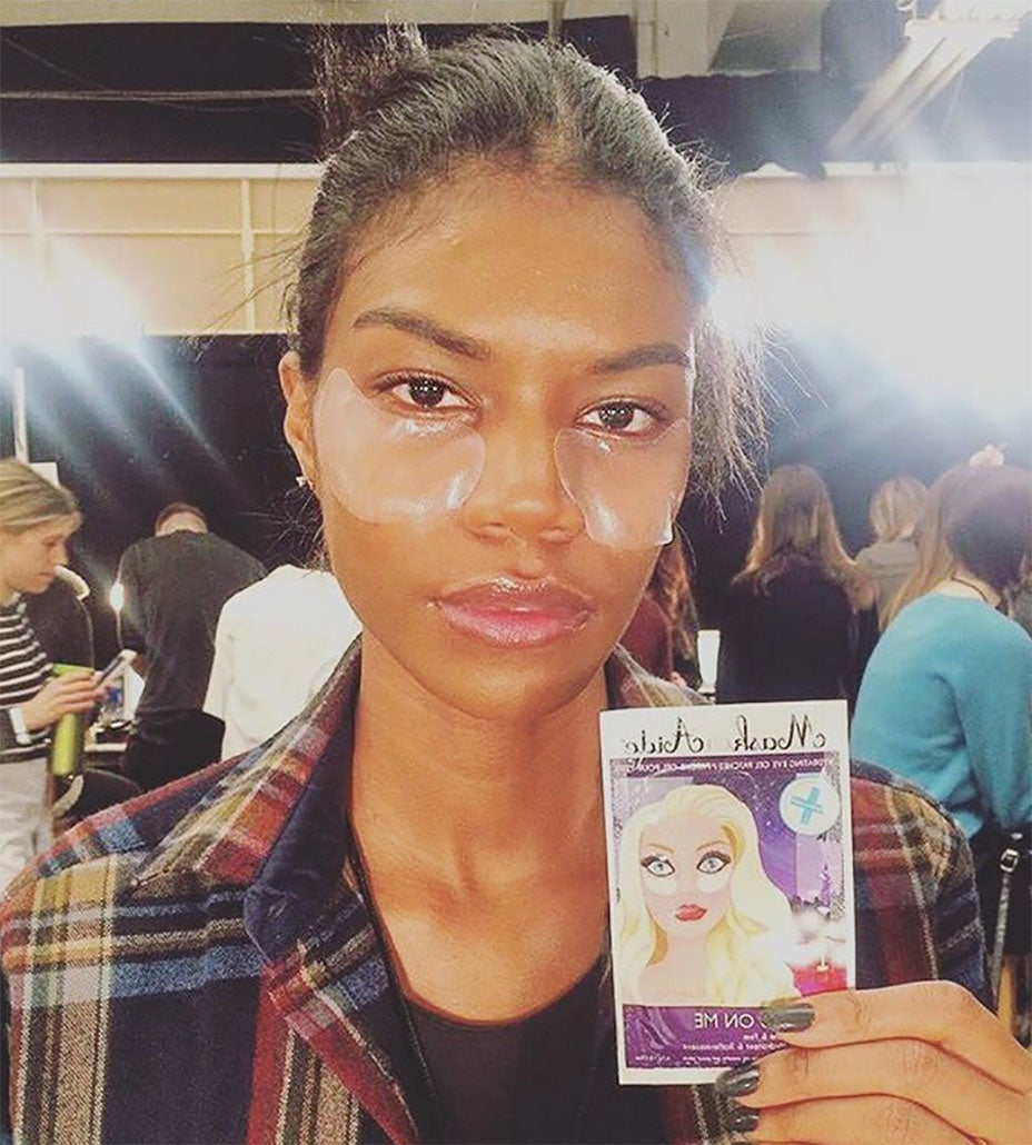 Kiss Puffy Eyes Goodbye With This Model Favorite!