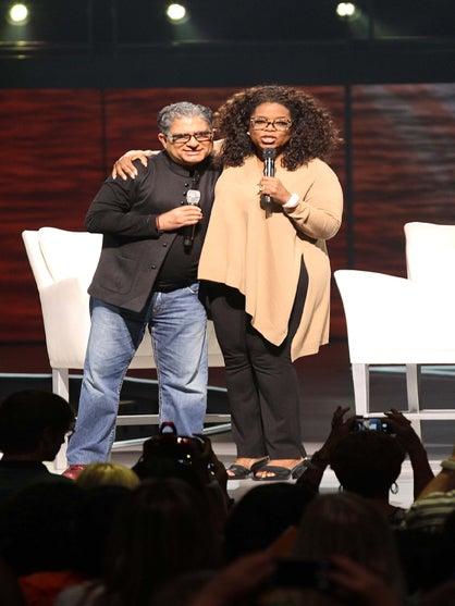 Oprah and Deepak Chopra Announce 'Shedding the Weight' Meditation Experience