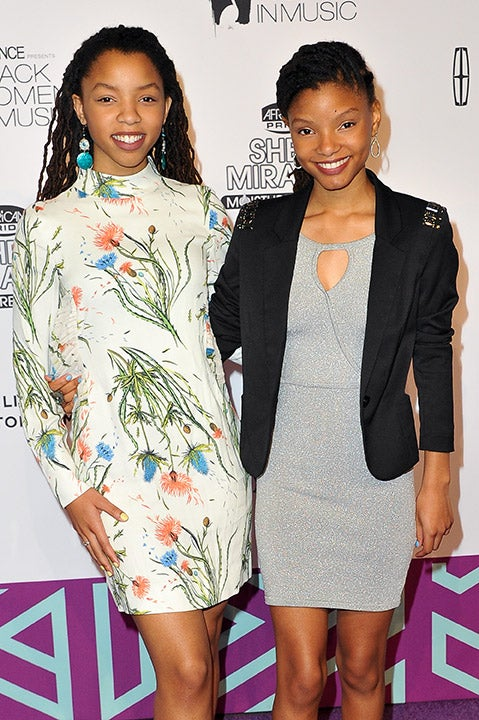 Chloé and Halle Bailey Talk Working With Beyoncé