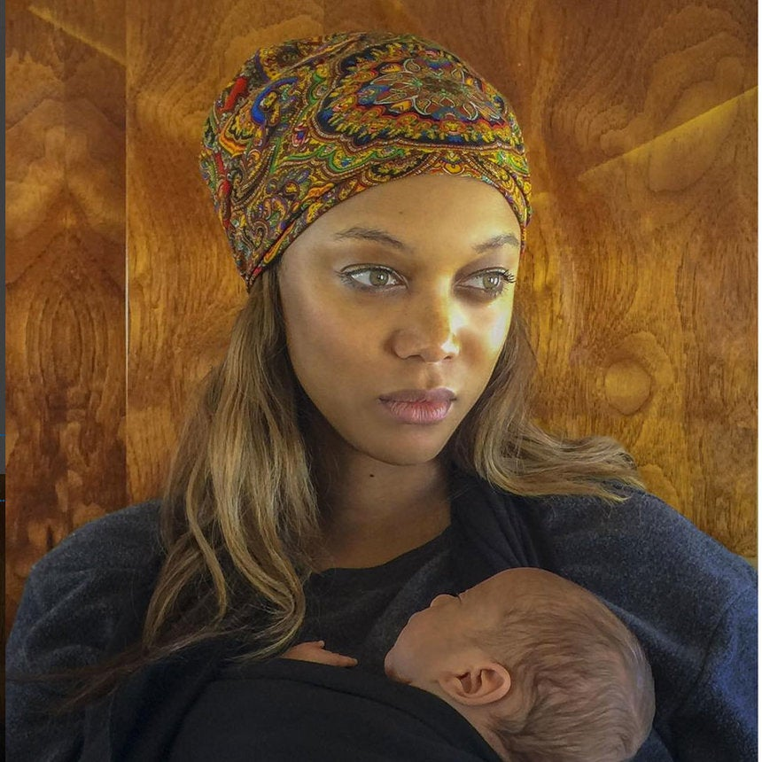 Tyra Banks Shares First Photo of Newborn Son York