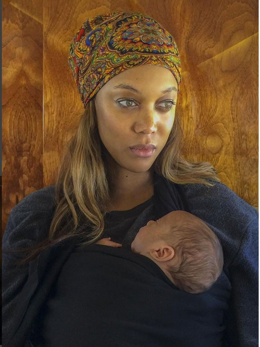 Tyra Banks Shares First Photo of Newborn Son York