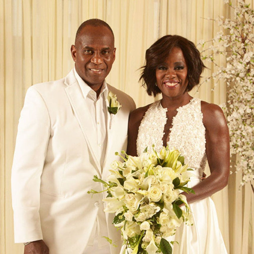 EXCLUSIVE: Viola Davis Renews Wedding Vows with Oprah and Celeb Friends