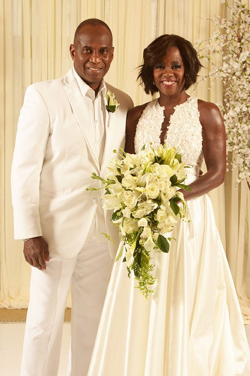 EXCLUSIVE: Viola Davis Renews Wedding Vows with Oprah and Celeb Friends