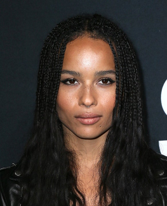 Zoe Kravitz Lets Her Freckles Fly Free