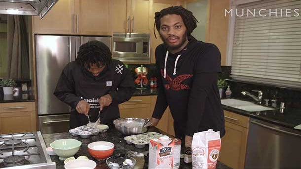 Waka Flocka Flame and Raury's Vegan Baking Tutorial Is Everything