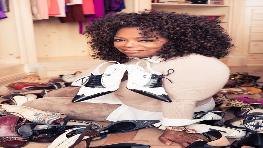 Oprah Reveals What's Inside Her Magnificent Harpo Studios Closet