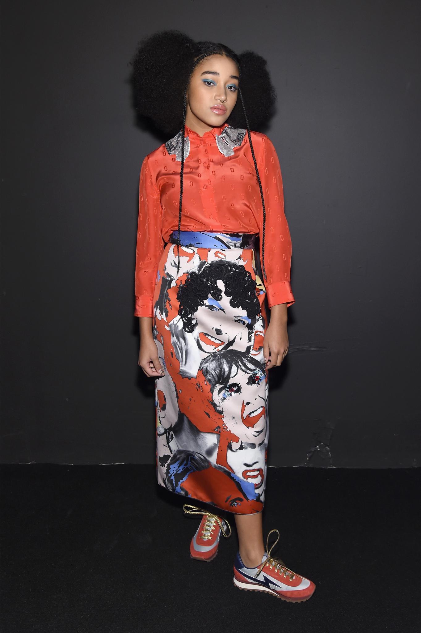 Amandla Stenberg to Star in 'Black Lives Matter' Inspired Movie