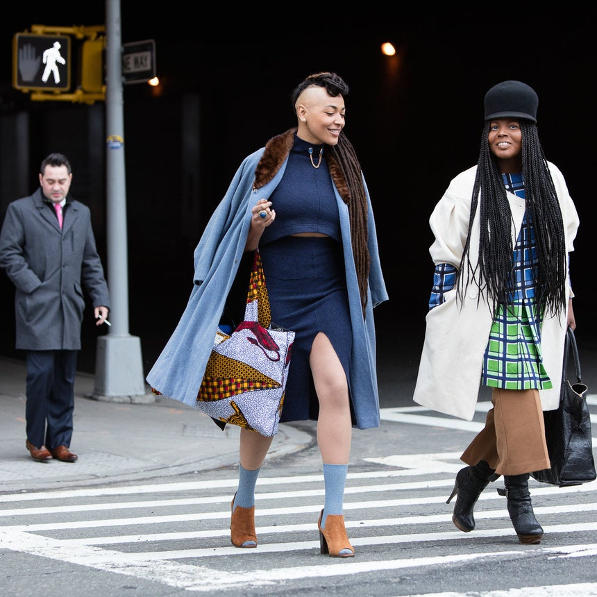 Winter Wasn't Ready! The Hottest NYFW Fall '16 Street Style Looks