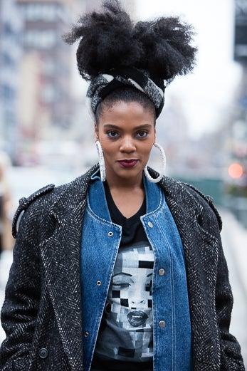 Street Style Hair New York Fashion Week Essence