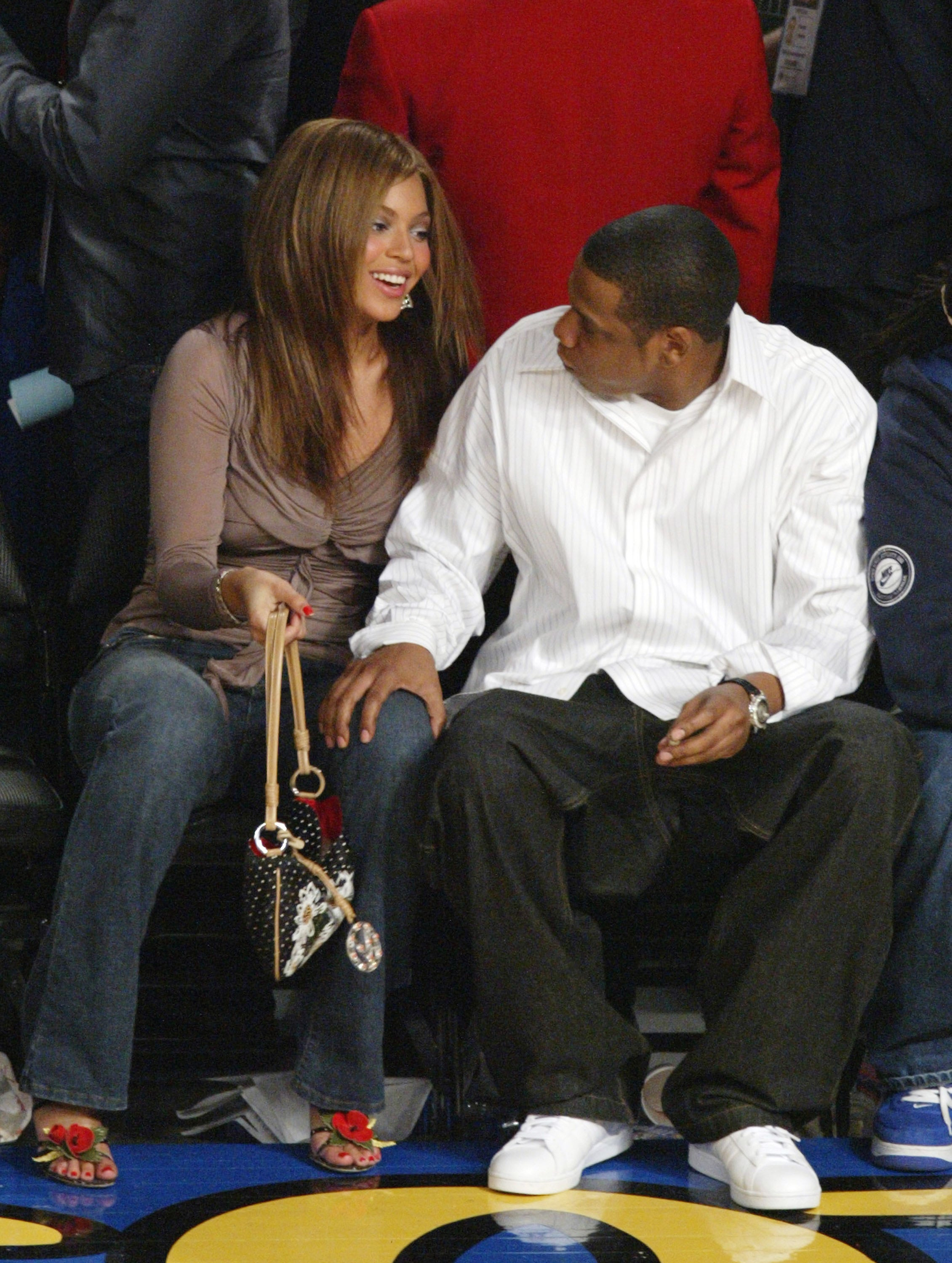 19faf09d08d9f6 Best Photos Of Beyonce and Jay-Z Courtside at NBA Games Over The ...