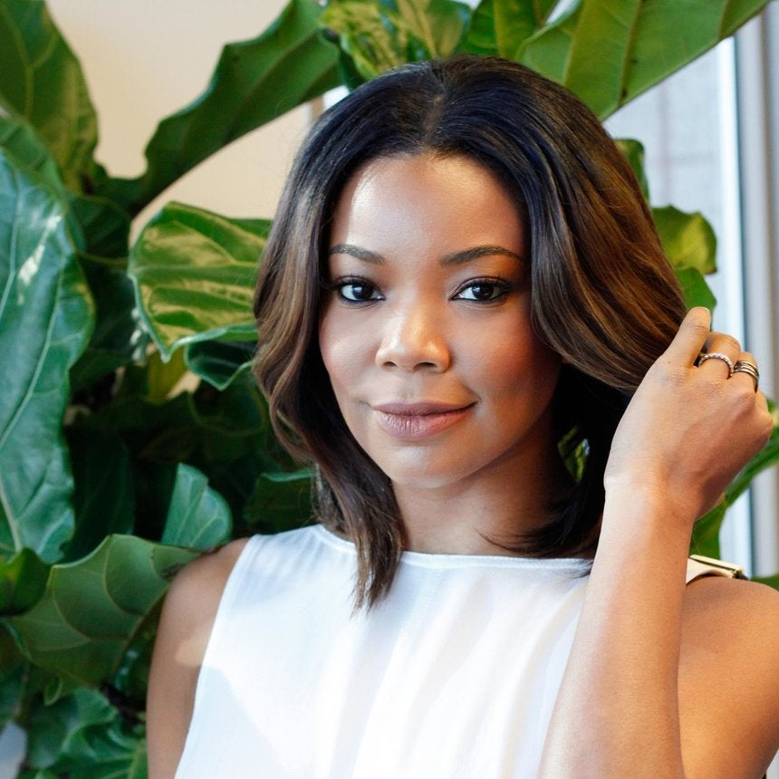 Gabrielle Union Loves the Smell of Blue Ultra Sheen Hair Grease, She's Just Like Us