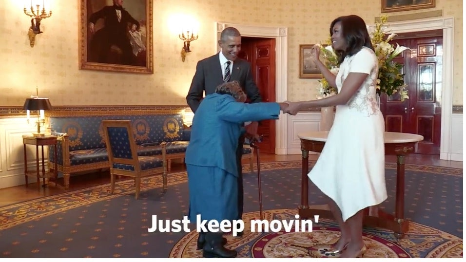 Watch a 106-Year-Old Woman Fulfill Her Dream of Visiting The White House