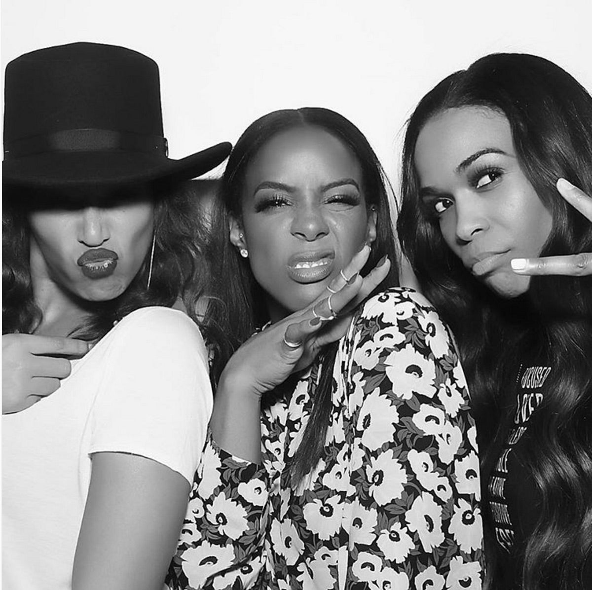 A Destiny's Child Reunion Happened at Kelly Rowland's Birthday Bash