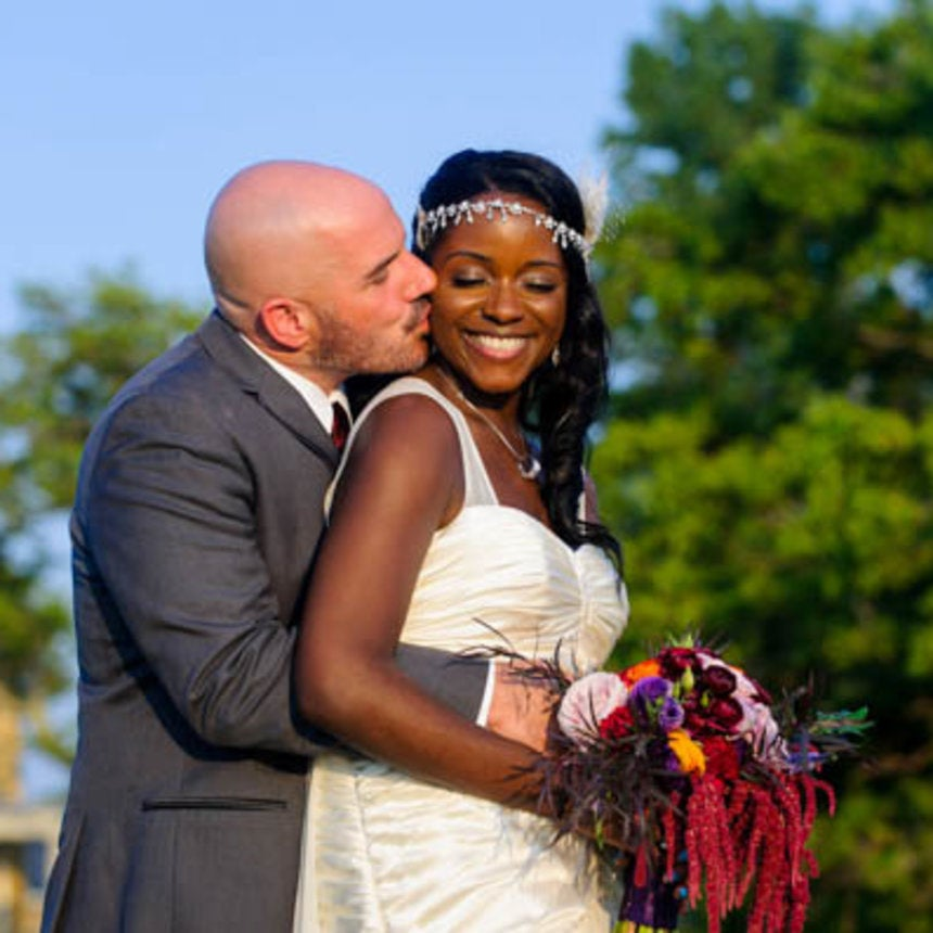 Bridal Bliss: Brittany and RJ's Sandy Hook Beach Wedding Photos