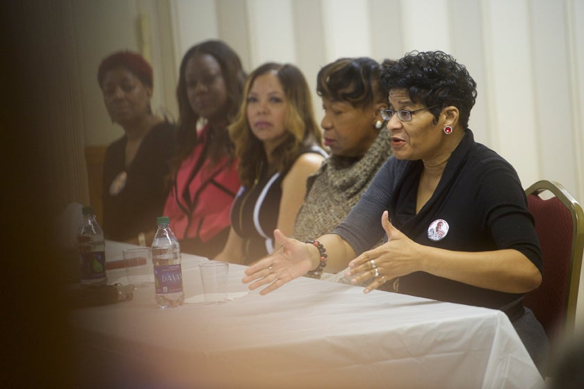 Mothers From 'Black Lives Matter' Campaign for Hillary Clinton