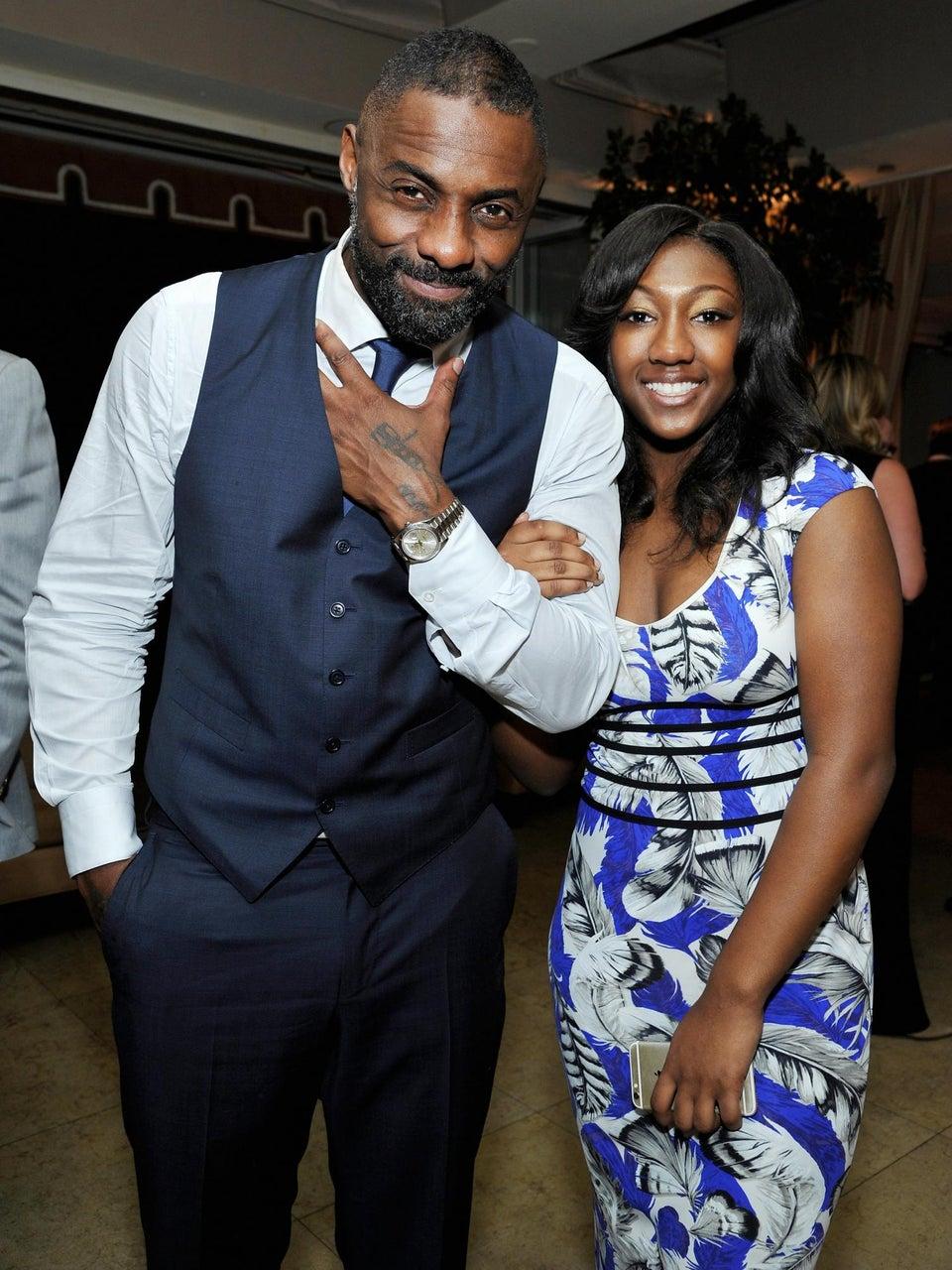 What Idris Elba Tells His Daughter About Black Girl Magic