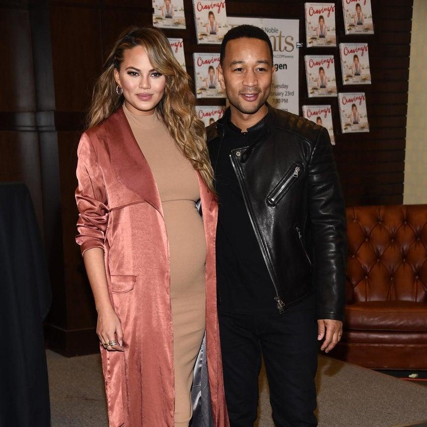 ICYMI: John Legend and Chrissy Teigen's Baby Girl Luna Simone Makes Her Social Media Debut