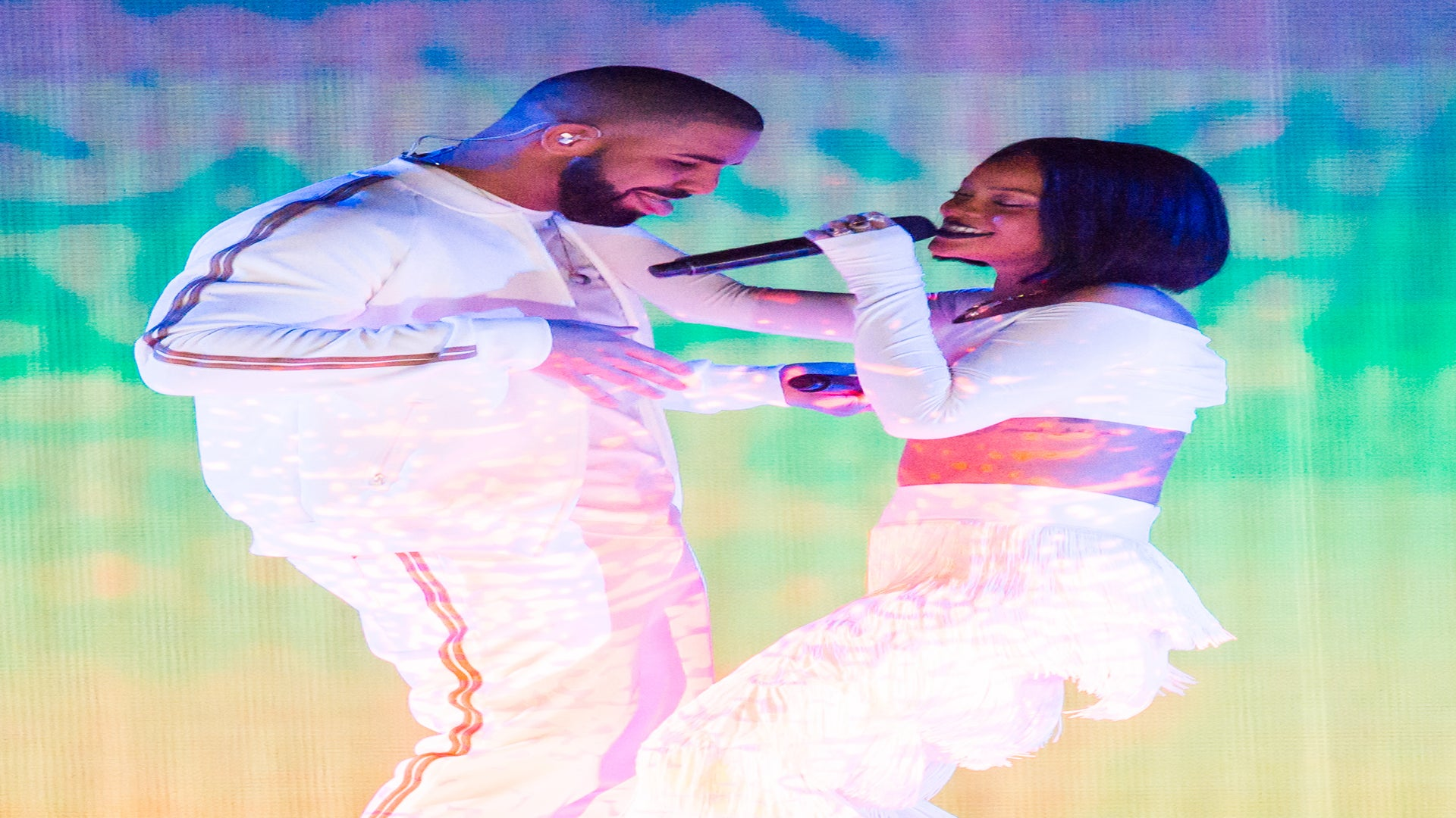Rihanna, Drake Surprise Cancer Patient in Miami