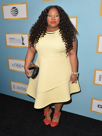 Amber Riley Issues Classic Clapback to Fan Who Comes at Her Weight