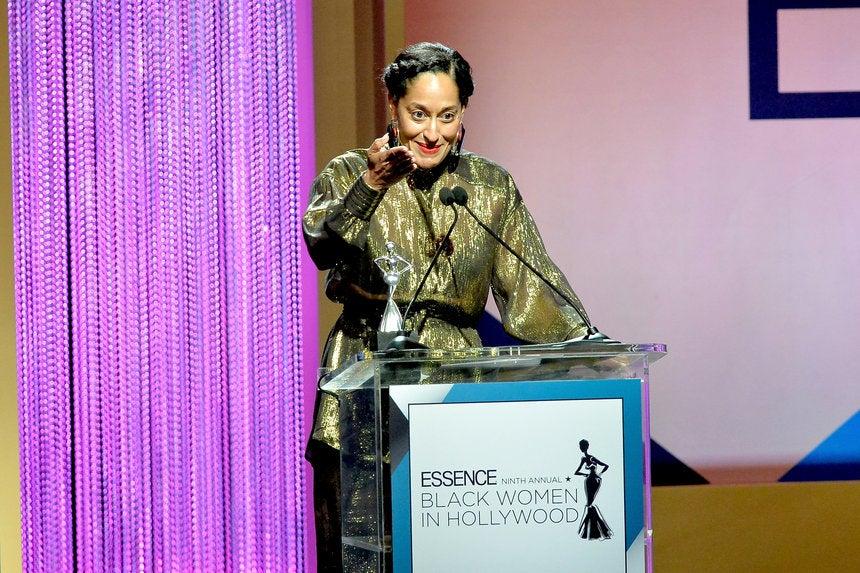 Tracee Ellis Ross ESSENCE Black Women in Hollywood Speech ...