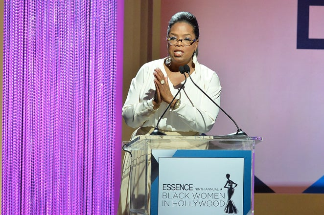 Oprah Celebrates Being a Black Woman in Hollywood: 'It's Magical, It's like Fellowship'