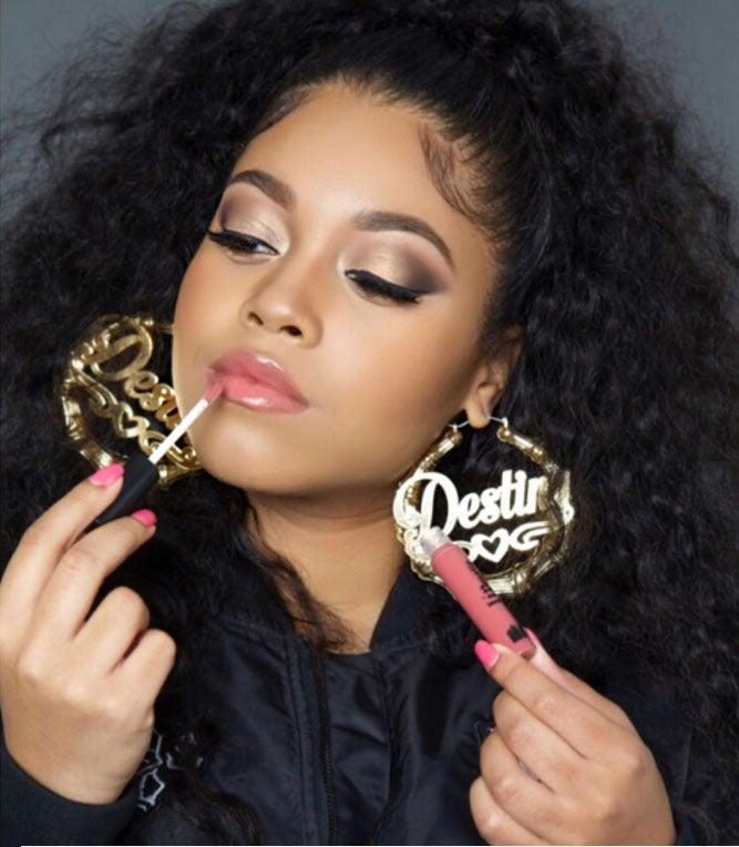 Nas's Daughter Has Her Own Lippie Line and It's Pretty Illmatic!