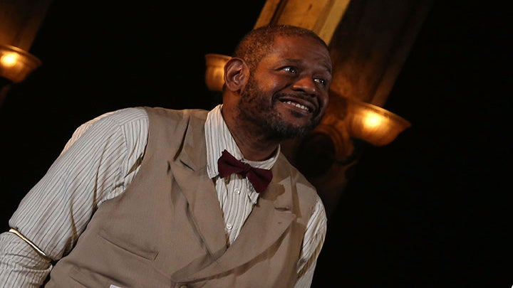 Forest Whitaker on Making His Broadway Debut in 'Hughie'