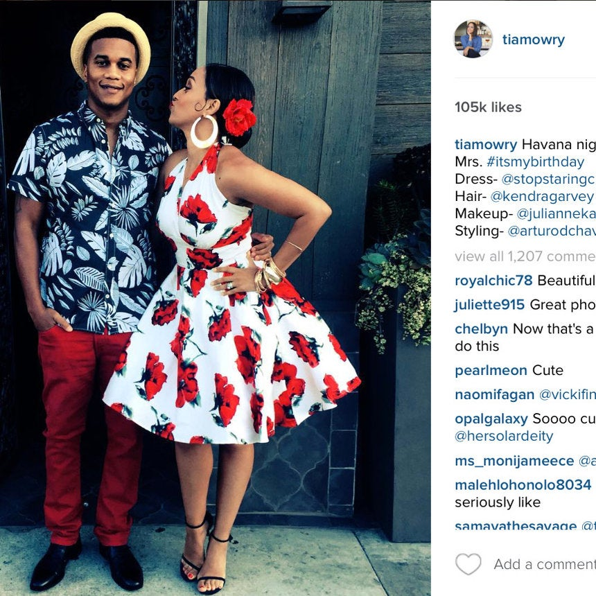 #InstaLove: Tia Mowry and Cory Hardrict's Sweetest Moments