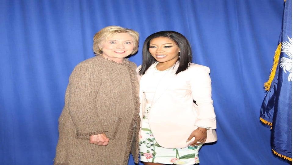 K. Michelle Endorses Hillary Clinton for President