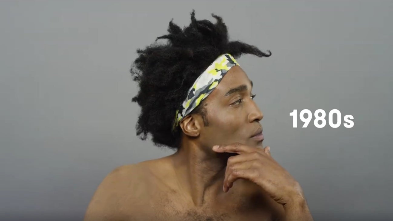 Must-See: 100 Years of Male Hairstyles Video