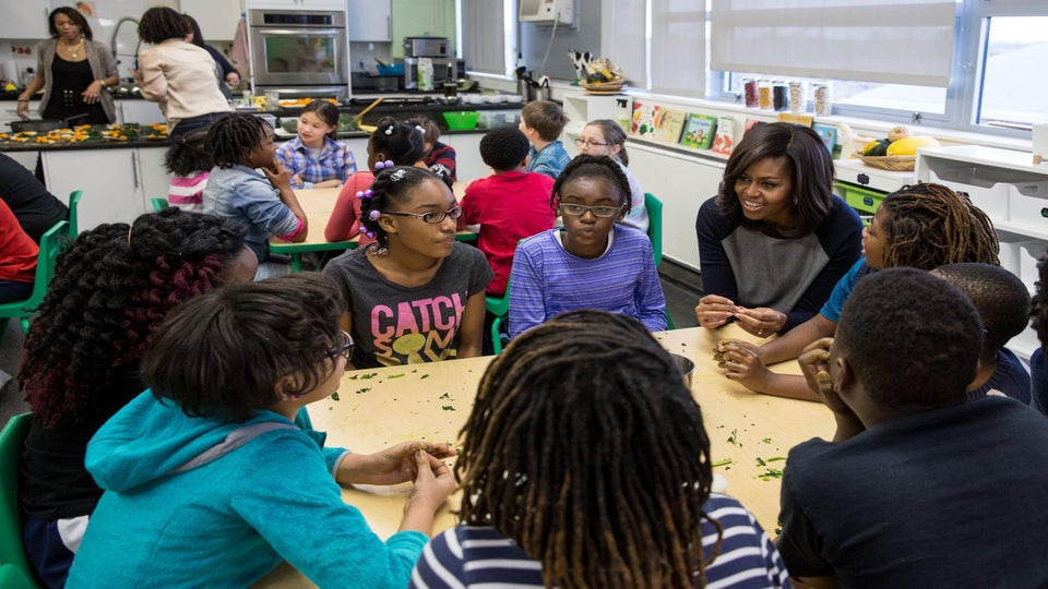 Michelle Obama Surprises Elementary School Students and Their Reactions Are Adorable!