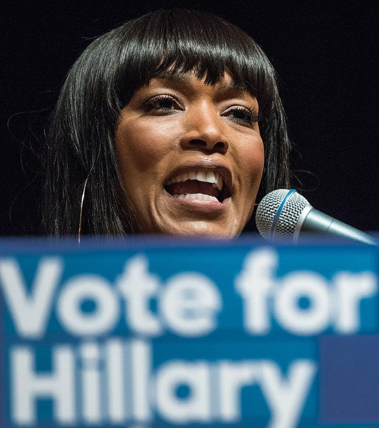 Angela Bassett Supports Hillary Clinton's 2016 Presidential Run