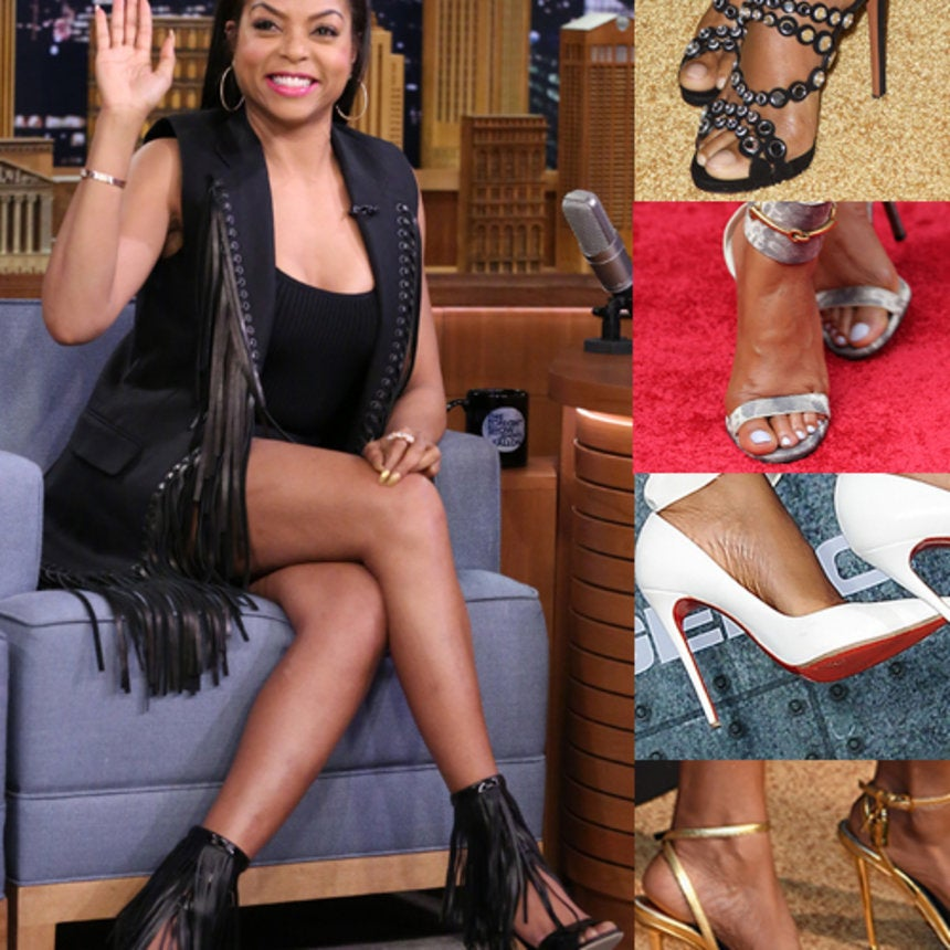 Taraji P. Henson's Shoe Game Is So Mean!