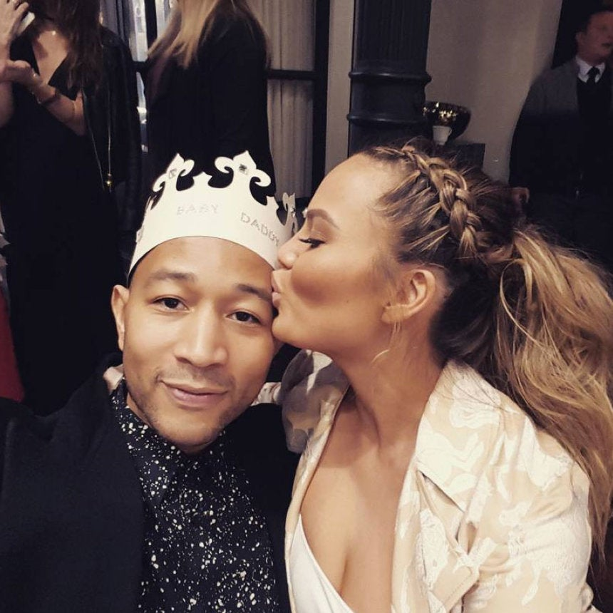 Chrissy Teigen and John Legend Had a Princess-Themed Baby Shower