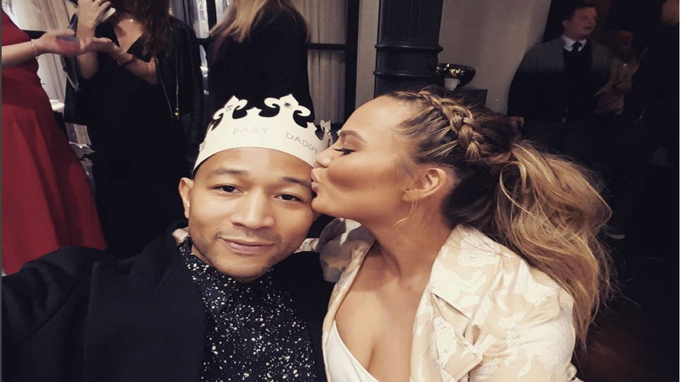Chrissy Teigen and John Legend Had a Princess-Themed Baby Shower