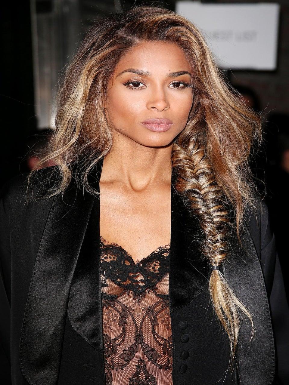 Ciara Slays Again! Rocks Fishtail Braid in Paris