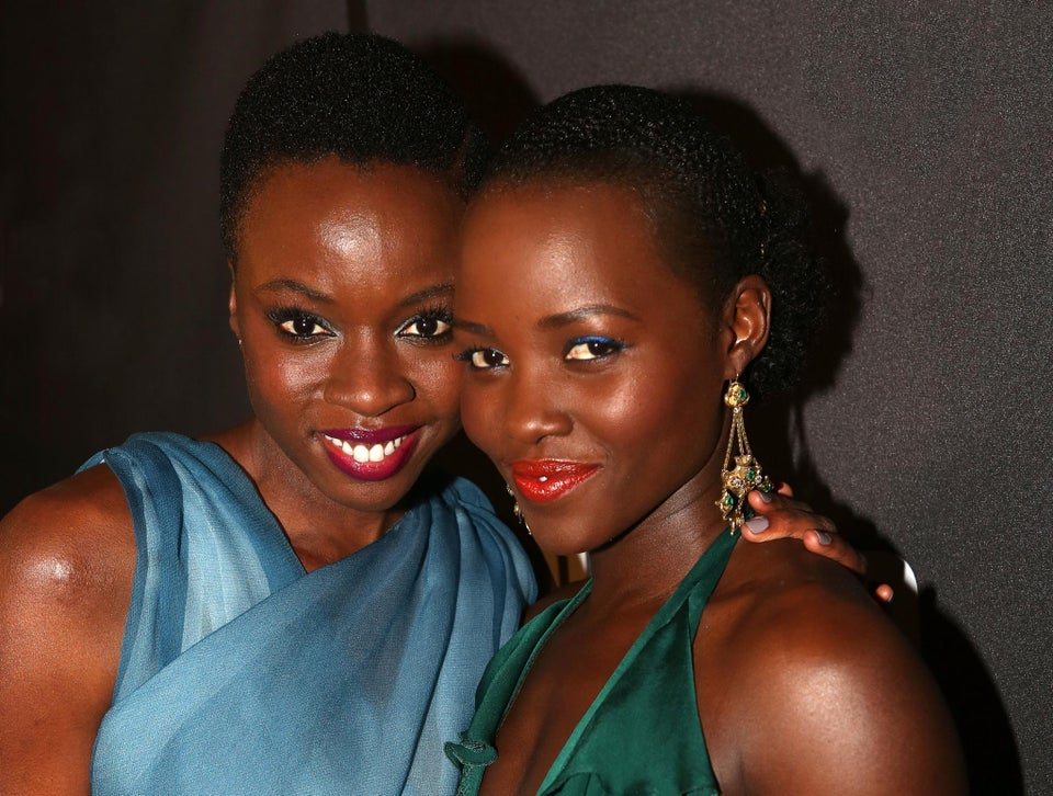 Lupita Nyong'o and Danai Gurira Shine On Broadway's 'Eclipsed' Red Carpet, Get The Look