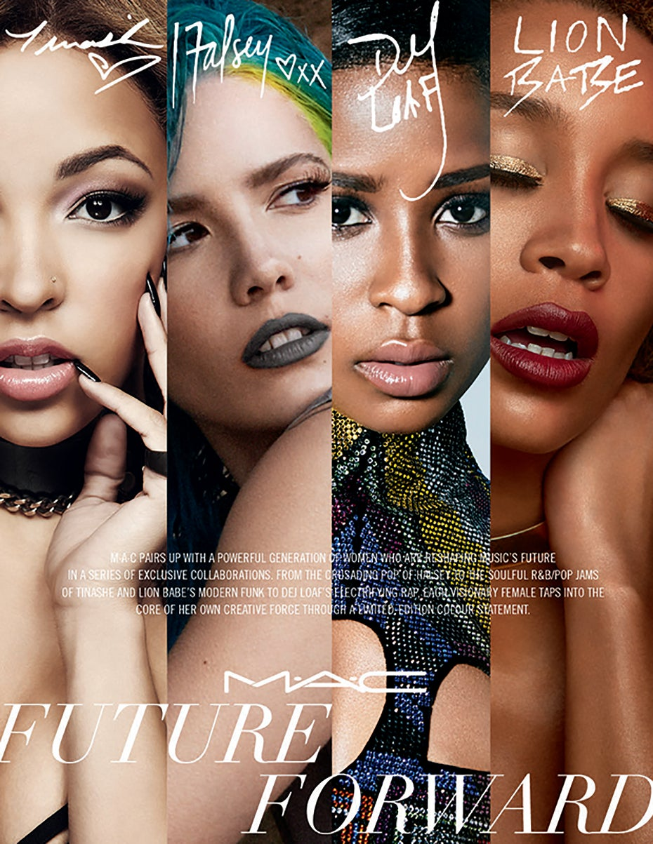 MAC's Newest Collaboration is Inspired by 4 Black Women in Music