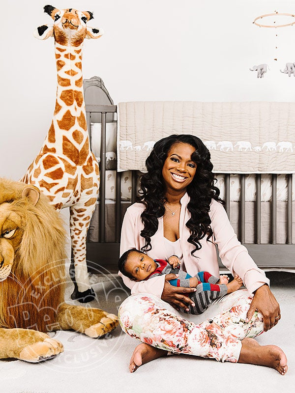 Our First Look at Kandi Burruss' Baby Boy is Here! Take a Look