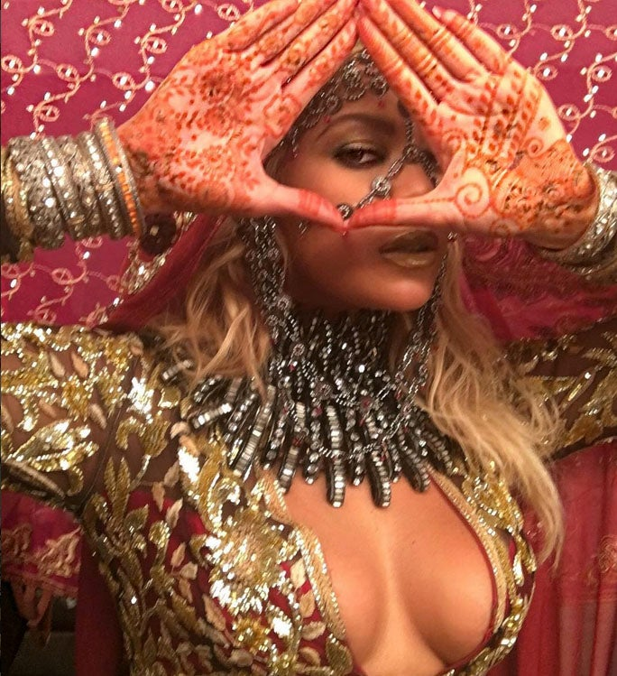 Beyonce's Henna Tattoo Highlights the Beauty of Indian Culture