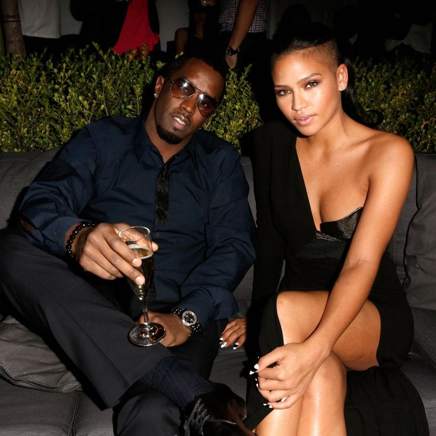 Diddy and Longtime Love Cassie Celebrate His Latest Achievement All Dressed Up In Love