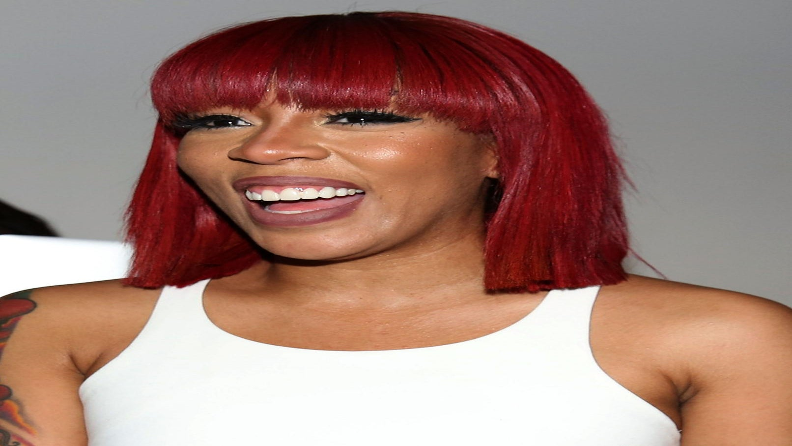 K. Michelle's Red Bob Is The Perfect Spring Color and Cut