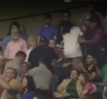 Another Black Person Physically Attacked at Trump Rally