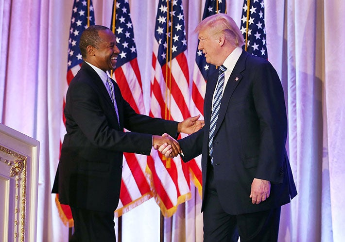 Ben Carson Endorses Donald Trump for President