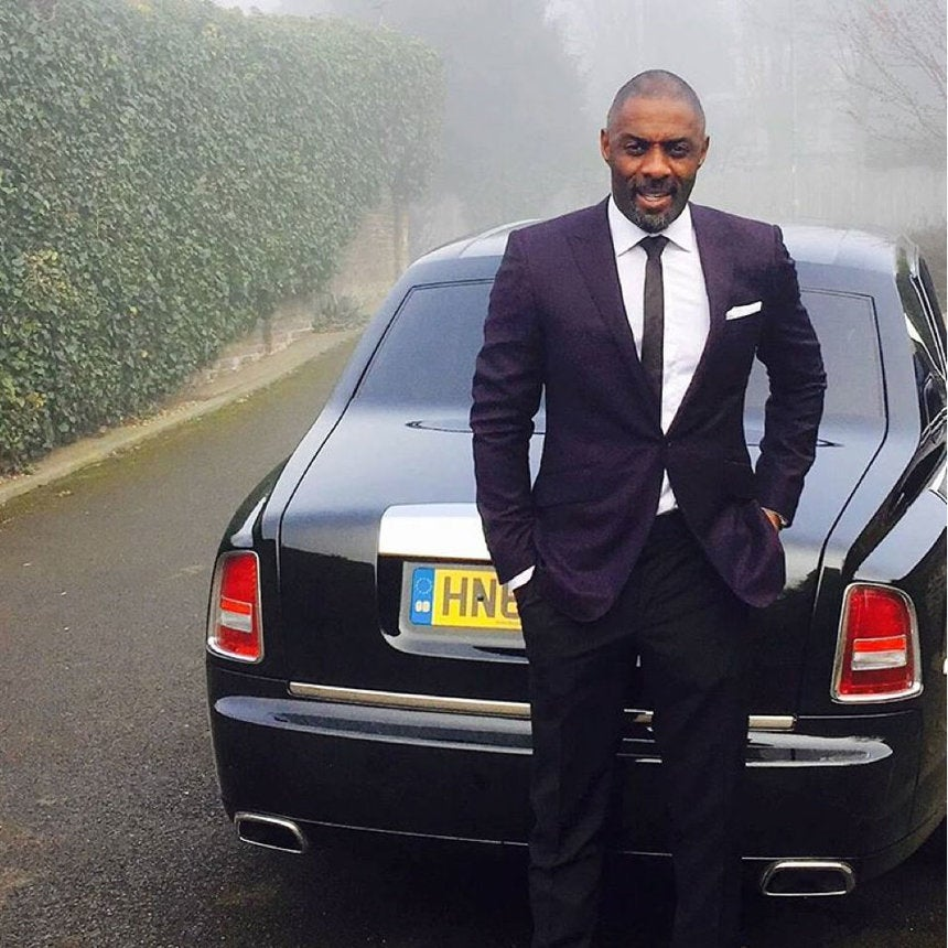Idris Elba Looks Like a Cuppa Hot Chocolate!