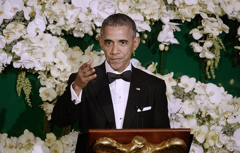 President Obama Toasts Daughters, Talks Importance of Family in Final State Dinner Speech